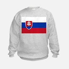Flag of Slovakia Sweatshirt