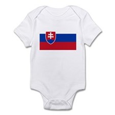 Flag of Slovakia Infant Bodysuit