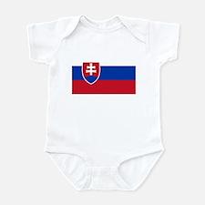 Flag of Slovakia Infant Bodysuit