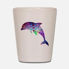 dolphin.png Shot Glass
