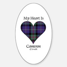 Heart - Cameron of Erracht Decal