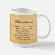 Balckbeard Historical Mugs