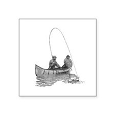 Canoeing Sticker