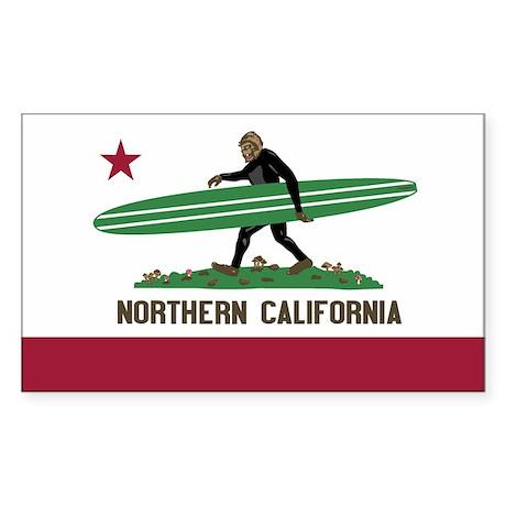 Northern California Bigfoot Sticker
