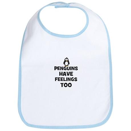 penguins have feelings too Bib
