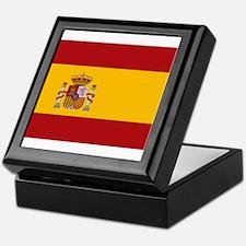 Flag of Spain Keepsake Box