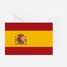 Flag of Spain Greeting Cards (Pk of 10)
