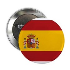 """Flag of Spain 2.25"""" Button (10 pack)"""