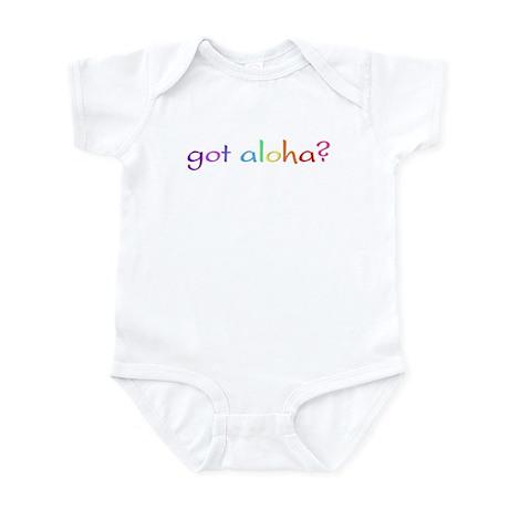 got aloha? (rainbow) Infant Bodysuit