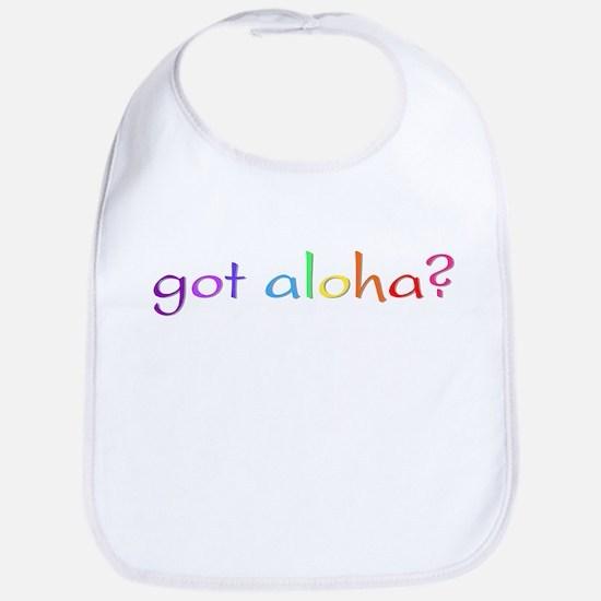 got aloha? (rainbow) Bib
