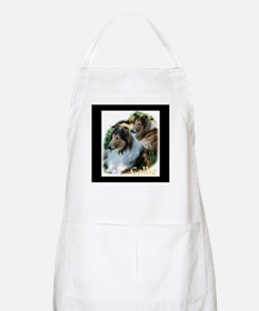 Collie Art Gifts BBQ Apron