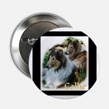 """Collie Art Gifts 2.25"""" Button (10 pack)"""