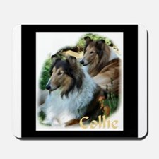 Collie Art Gifts Mousepad