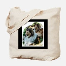 Collie Art Gifts Tote Bag