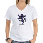 Lion - Cameron of Erracht Women's V-Neck T-Shirt