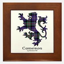 Lion - Cameron of Erracht Framed Tile