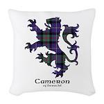 Lion - Cameron of Erracht Woven Throw Pillow