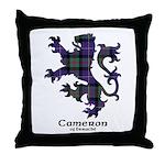 Lion - Cameron of Erracht Throw Pillow