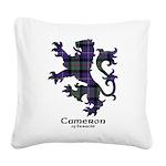 Lion - Cameron of Erracht Square Canvas Pillow