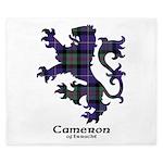 Lion - Cameron of Erracht King Duvet