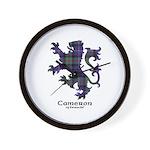 Lion - Cameron of Erracht Wall Clock