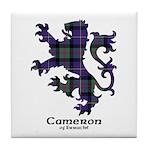 Lion - Cameron of Erracht Tile Coaster