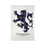Lion - Cameron of Erracht Rectangle Magnet (100 pa