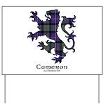 Lion - Cameron of Erracht Yard Sign