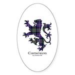 Lion - Cameron of Erracht Sticker (Oval 10 pk)