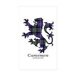 Lion - Cameron of Erracht Sticker (Rectangle 50 pk