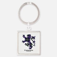 Lion - Cameron of Erracht Square Keychain