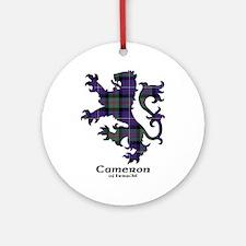 Lion - Cameron of Erracht Ornament (Round)