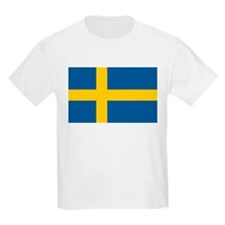 Flag of Sweden Kids T-Shirt