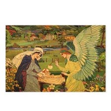 Vintage Religious Tapestr Postcards (Package of 8)