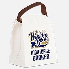Mortgage Broker (Worlds Best) Canvas Lunch Bag