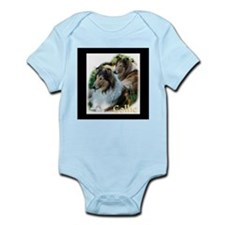 Collie Art Gifts Infant Bodysuit