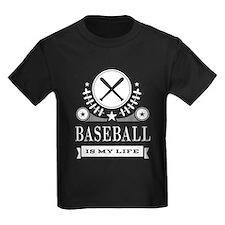 Baseball Is My Life Vintage T