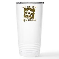 All For Rum Travel Mug