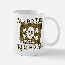 All For Rum Mugs