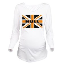 Hull England Long Sleeve Maternity T-Shirt
