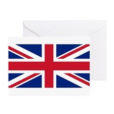 Flag of the UK Greeting Cards (Pk of 10)