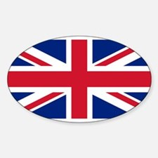 Flag of the UK Oval Decal