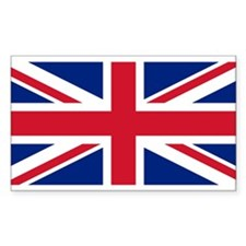 Flag of the UK Rectangle Decal