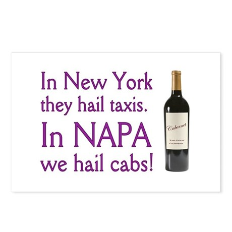 Napa Cabernet ! Postcards (Package of 8)