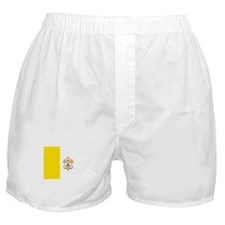 Vatican City Flag Boxer Shorts