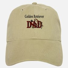 Golden Retriever Dad Baseball Baseball Cap
