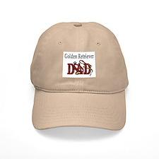 Golden Retriever Dad Baseball Cap