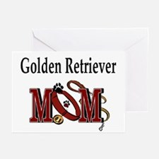 Golden Retriever Mom Greeting Cards (Pk of 10)
