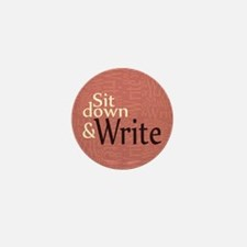 Sit Down and Write Mini Button (100 pack)