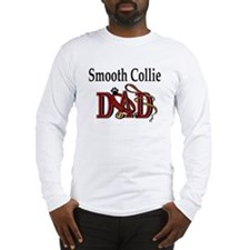 Smooth Collie Dad Long Sleeve T-Shirt